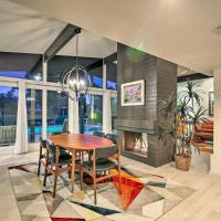 NEW! Poolside Oasis on Tahquitz Creek Golf Course!
