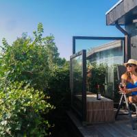 4 pers holiday home Sol & Mar with infrared sauna at the Lauwersmeer