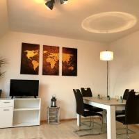 Gemütliche 2-Zimmerwohnung mit EBK Parkplatz, Hotel in Breisach am Rhein