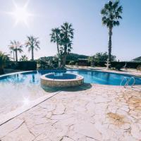 Villa con piscina, sauna, jacuzzi y ponies