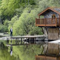 Duke of Portland Boathouse on the shore of Lake Ullswater ideal for a romantic break