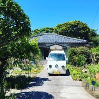 泊まれる植物館あずまや・種子島