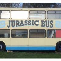 The Jurassic Bus near Durdle Door