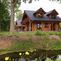 Houten villa Tine