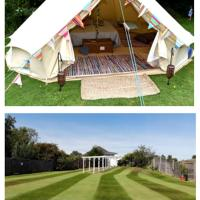 Boutique Glamping - Stonelees Golf Centre