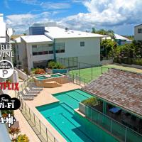 1BR Coolum Beach ★Roof Terrace★Spa★Tennis★Pool