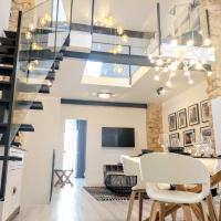 LUXURY New Loft-House at street level in Old town, centre & Beach,Alicante