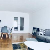 Grand appartement 3pieces vue mer Promenade des Anglais