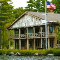 Parthenon - Adirondack Lake side home - Upper Saint Regis Lake, hotel in Saranac Lake