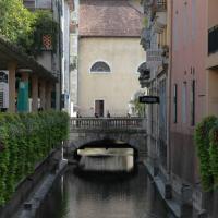 LE GRUFFAZ, 4 pers, hyper centre, terrasse sur canal