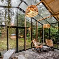 Boutique bungalow met sauna en hottub