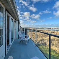 Beachfront Ocean Shores Condo w/ 3 Balconies!