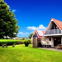 Leonie 6 pers holiday home with a large garden close to the Lauwersmeer