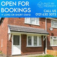 Entire Home commutable to Birmingham City Centre/NEC/ICC - West Bromwich
