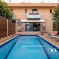 Sunny homm Villa in Vari with private pool