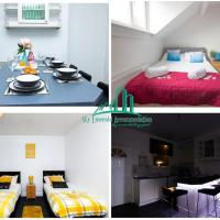 Sky Emerald Serviced Accommodation in Leeds, Upto 14 Guest, With Free Car Park and Free Wifi