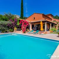 Warm house with swimming pool and garden - Dodo et Tartine