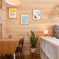Super cosy studio in a lively area of Chamonix
