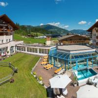 Hotel Vierjahreszeiten, hotelli kohteessa Flachau