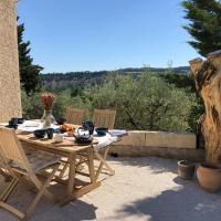Mas provençal La Serallère au coeur des oliviers