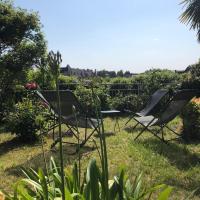 Le jardin sur les remparts