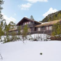 Nice home in Eggedal w/ Sauna and 6 Bedrooms