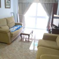 3 rooms apartment -15 minutes walk to the beach and city center