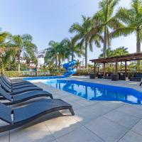 Chalé maravilhoso para família com piscina SAM011
