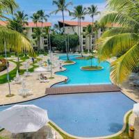 Flat Resort Marulhos Vista Piscina