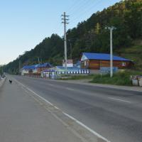 Дом на берегу озера Байкал