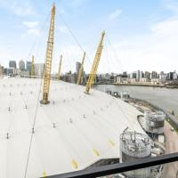 Beautiful 2 bedroom apartment Greenwich apartment overlooking the O2 arena