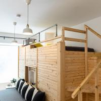 KREUZBERG apartment with unique loft bed element