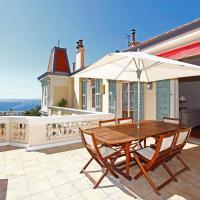 Magnifique appartement d'époque avec Vue Mer 4 personnes avec terrasse Le Port Nice