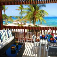 Luxury Beachfront King Suite on Sapphire Beach II