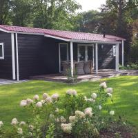 Cosy chalet with terrace or conservatory near Amerongse Berg