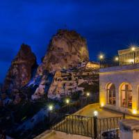 Caldera Cave Hotel, מלון באוצ'יסר