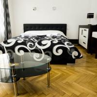 Black & White Apartment Prague by Wenceslas Square and Muzeum