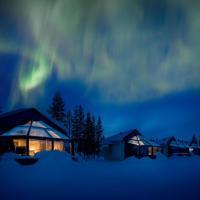 Santa's Igloos Arctic Circle, hotel in Rovaniemi