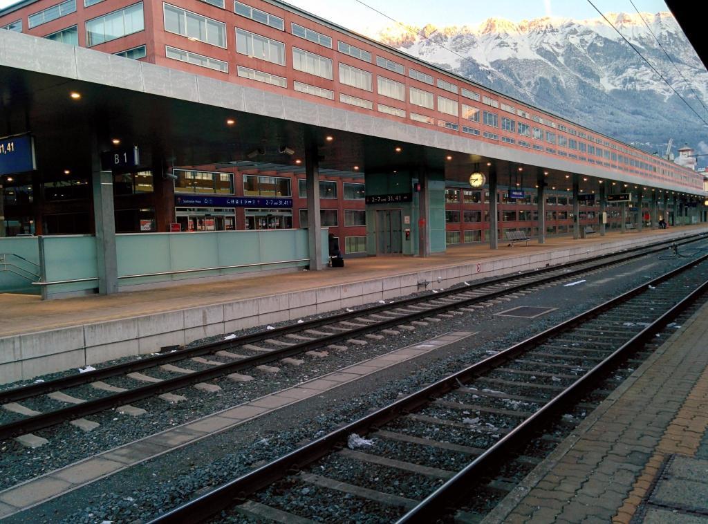Железнодорожный вокзал Инсбрука