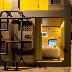Kapsulové hotely  1451 kapsulových hotelov v Tokyu