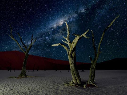 Os 6 melhores sítios do mundo para ver as estrelas