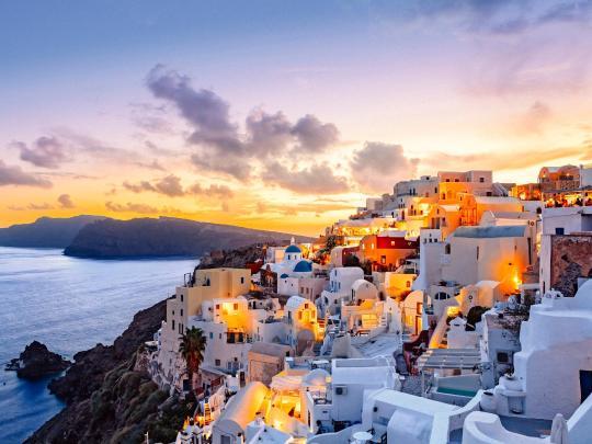 Destinasjon til inspirasjon: Santorini, Hellas