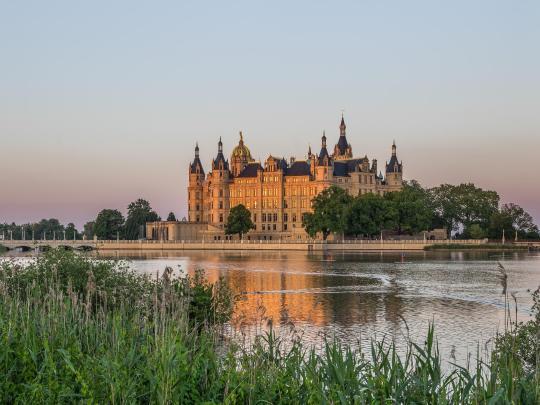 Auf Schlossjagd in Deutschland