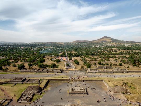 6 yacimientos prehispánicos de México