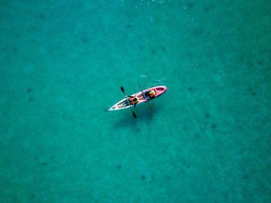 Os 5 melhores destinos para desportos aquáticos