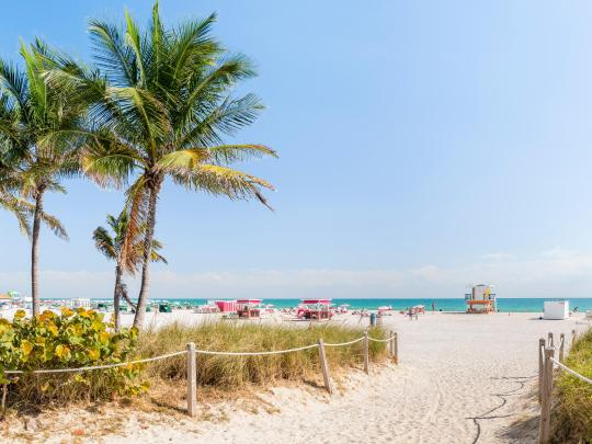 The 5 finest beaches of the USA's southern states