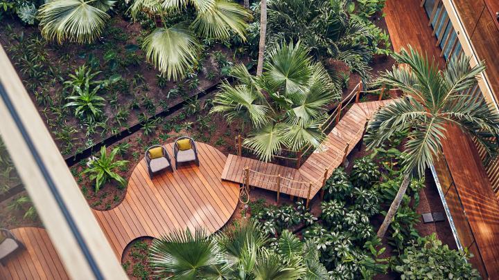 6 hotel di design dove il verde è protagonista