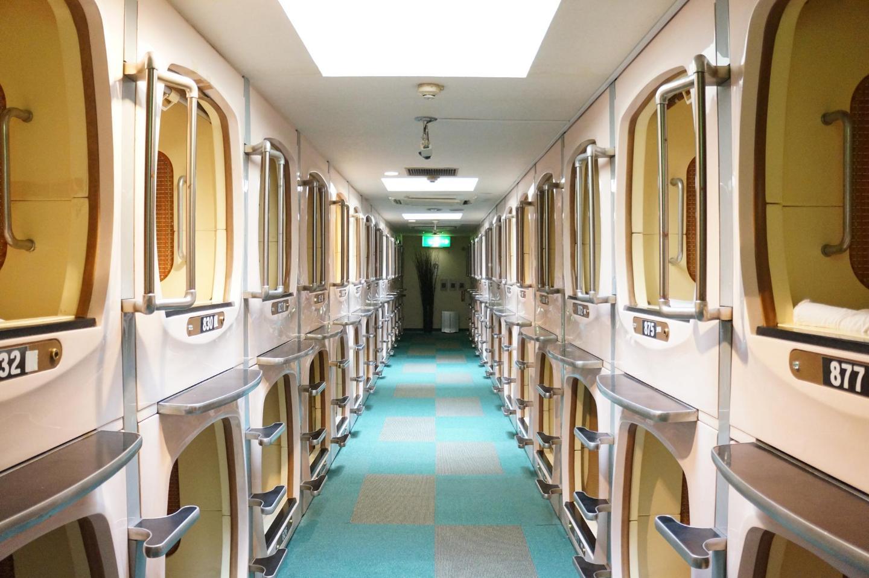 Capsule Hotels In Tokyo An