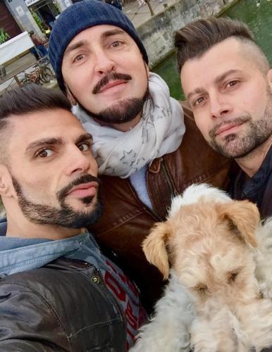 Samy, Giuseppe, Corrado, Daphne