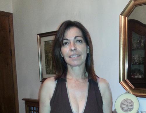 Marina, titolare della struttura